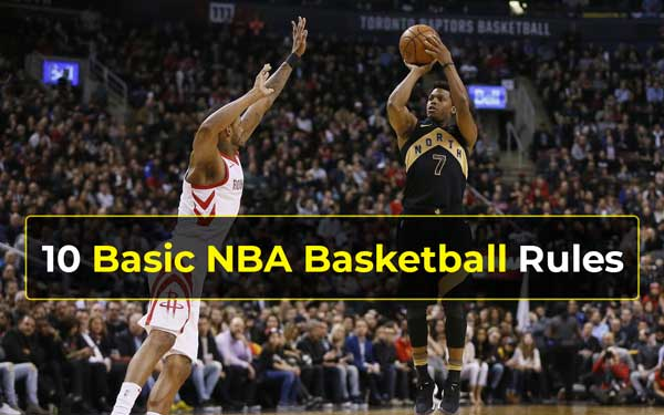 Basic NBA Basketball Rules