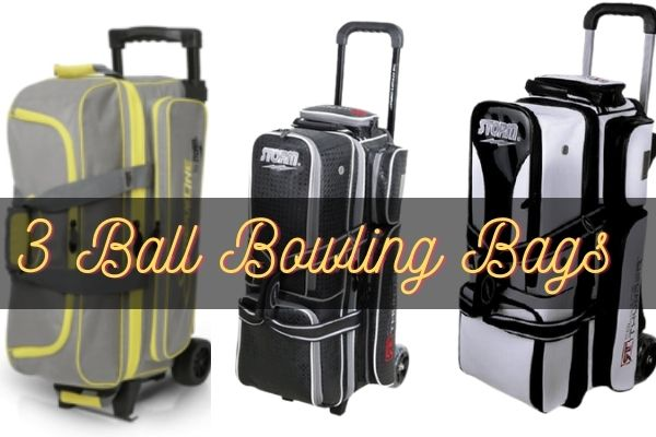 Best 3 ball bowling bags with wheels